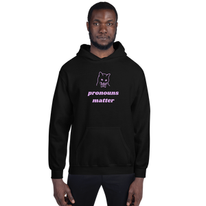 Gender Pronouns Hoodie | This Is Theirs