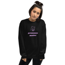 Load image into Gallery viewer, Gender Pronouns Matter Sweatshirt | This Is Theirs