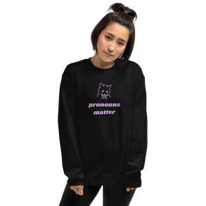 Gender Pronouns Matter Sweatshirt | This Is Theirs