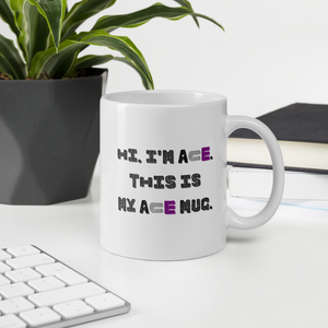 Hi I'm Ace This Is My Ace Mug | ThisIsTheirs