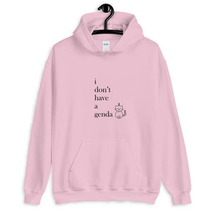 I don't have a genda Funny Non-Binary Hoodie - EnbyTee