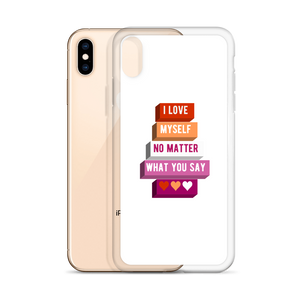 I Love Myself Lesbian Pride iPhone Case | ThisIsTheirs