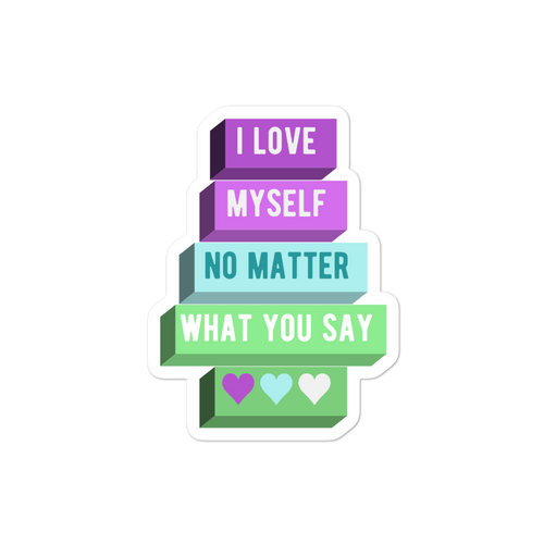 I Love Myself Toric NBLM Pride Stickers | ThisIsTheirs