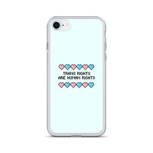 Trans Rights Are Human Rights iPhone Case