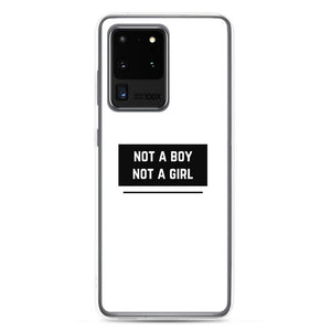 Not A Boy Not A Girl Gender Non-Binary Samsung Case | ThisIsTheirs