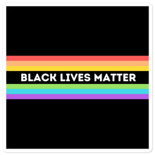 Load image into Gallery viewer, Black Lives Matter Rainbow Stickers  | ThisIsTheirs