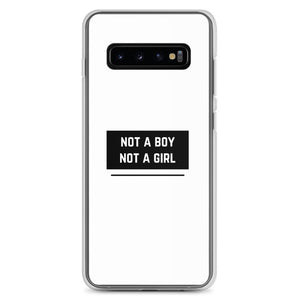 Not A Boy Not A Girl Samsung Case | ThisIsTheirs