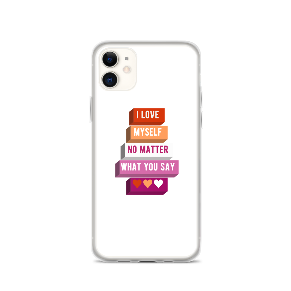I Love Myself Lesbian iPhone Case | ThisIsTheirs