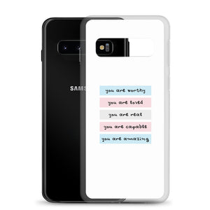 You Are Real Trans Self-Love Samsung Case