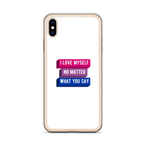I Love Myself Bisexual iPhone Case | ThisIsTheirs
