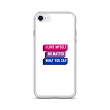 Load image into Gallery viewer, I Love Myself Bi Pride iPhone Case | ThisIsTheirs