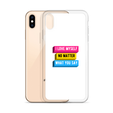 Load image into Gallery viewer, I Love Myself Pansexual iPhone Case | ThisIsTheirs