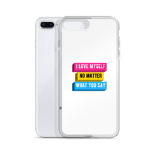 Load image into Gallery viewer, I Love Myself Panromantic iPhone Case | ThisIsTheirs