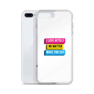 I Love Myself Panromantic iPhone Case | ThisIsTheirs