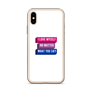 I Love Myself Bisexual Pride iPhone Case | ThisIsTheirs
