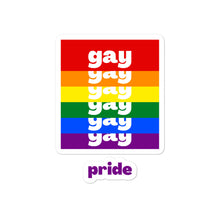 Load image into Gallery viewer, Gay Pride Stickers