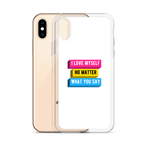 I Love Myself Pan Pride iPhone Case | ThisIsTheirs