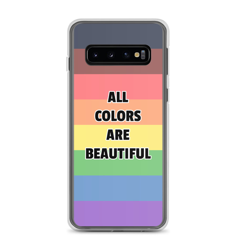All Colors Are Beautiful LGBTQ Pride Samsung Case