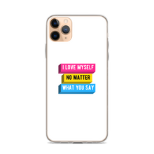 Load image into Gallery viewer, I Love Myself Pansexual Pride iPhone Case | ThisIsTheirs