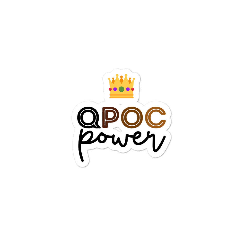 QPOC Power LGBTQ Stickers