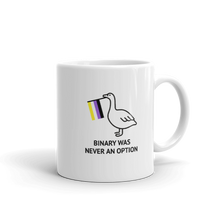 Load image into Gallery viewer, Binary Was Never An Option Goose Mug