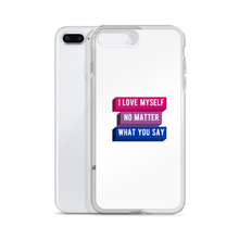 Load image into Gallery viewer, I Love Myself No Matter What You Say Bisexual iPhone Case | ThisIsTheirs