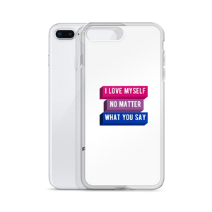 I Love Myself No Matter What You Say Bisexual iPhone Case | ThisIsTheirs