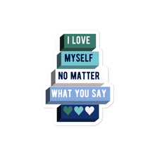 Load image into Gallery viewer, I Love Myself Gay Man Pride Stickers | ThisIsTheirs