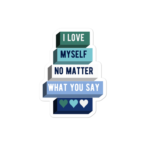 I Love Myself Gay Man Pride Stickers | ThisIsTheirs