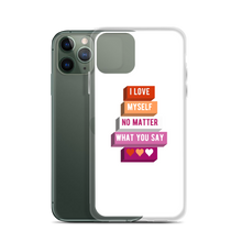 Load image into Gallery viewer, I Love Myself Lesbian iPhone Case | ThisIsTheirs