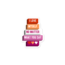 Load image into Gallery viewer, I Love Myself Lesbian Stickers | ThisIsTheirs