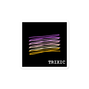 Chaotic Trixic Flag Stickers