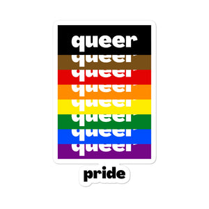 Queer Pride Stickers
