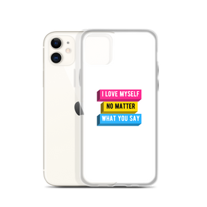 I Love Myself Pansexual iPhone Case | ThisIsTheirs