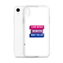 Load image into Gallery viewer, I Love Myself Biromantic Pride iPhone Case | ThisIsTheirs