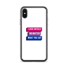 Load image into Gallery viewer, I Love Myself Bisexual Pride iPhone Case | ThisIsTheirs