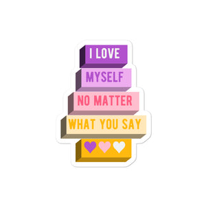 I Love Myself Trixic Pride Stickers | ThisIsTheirs
