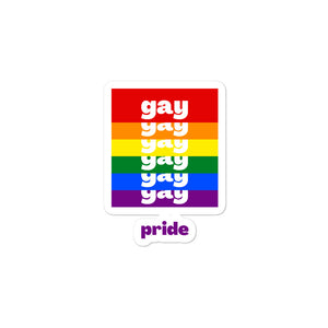 Gay Pride Stickers