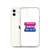 Load image into Gallery viewer, I Love Myself Bisexual iPhone Case | ThisIsTheirs