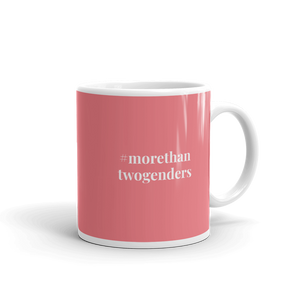 More Than Two Genders Gender Inclusive Mug - EnbyTee