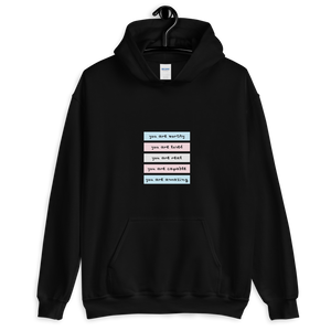 You Are Real Trans Self-Love Hoodie