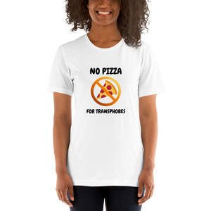 No Pizza For Transphobes Shirt | ThisIsTheirs
