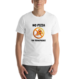 No Pizza For Transphobes Tee | ThisIsTheirs