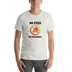 No Pizza For Transphobes T-Shirt | ThisIsTheirs