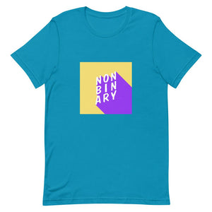 Non Binary Shirt Blue | This Is Theirs
