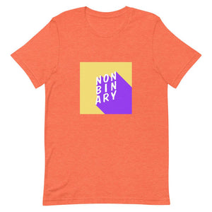 Non Binary Shirt Orange | This Is Theirs