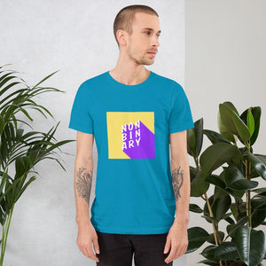 Non Binary T-Shirt Blue | This Is Theirs