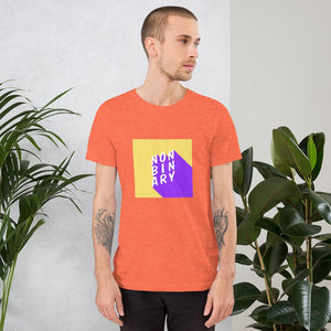 Non Binary T-Shirt Orange | This Is Theirs