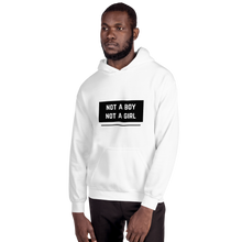 Load image into Gallery viewer, Not A Boy Not A Girl Nonbinary Hoodie | ThisIsTheirs