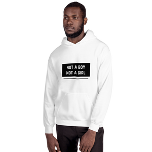 Not A Boy Not A Girl Nonbinary Hoodie | ThisIsTheirs